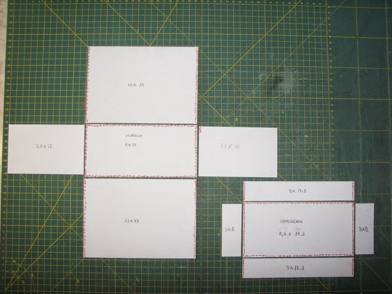 Amato fantASIa Blog: Cartonaggio lesson number 3, scatola con coperchio BH94
