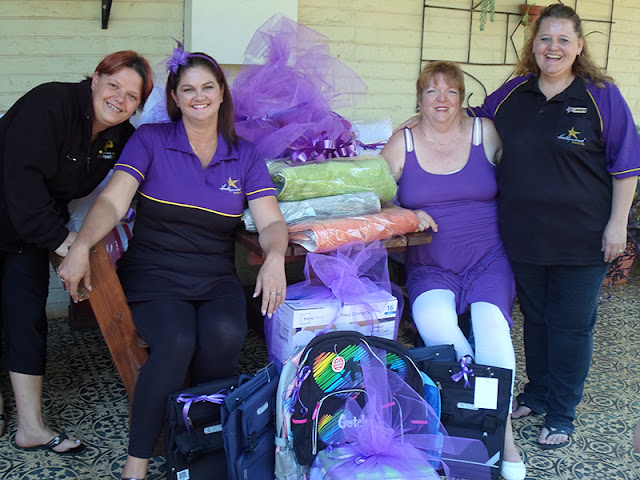 Hollywoodbets Three Rivers donated goods to Trentico House as part of Hollywood's CSI and Social Responsibility