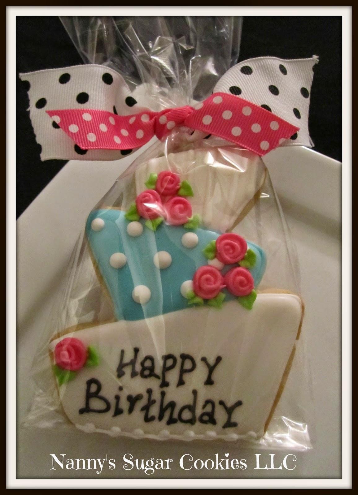 Nanny S Sugar Cookies Llc Happy Birthday To You
