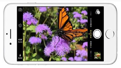 Camera trên iPhone 6 cũ