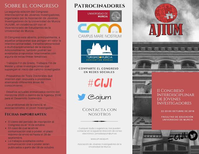 II Congreso Interdisciplinar de Jóvenes Investigadores