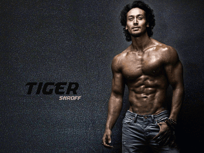 Tiger Shroff Body Building HD Wallpaper