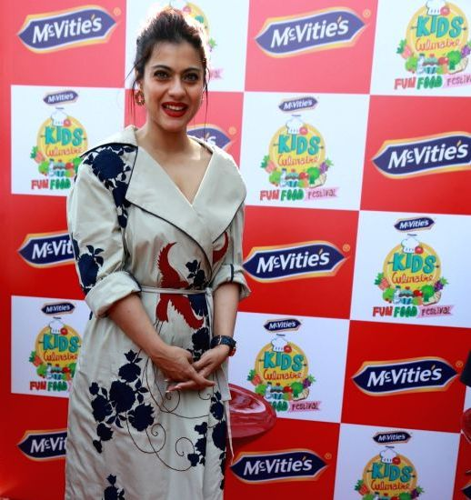 Kajol at McVities Kids Culinaire