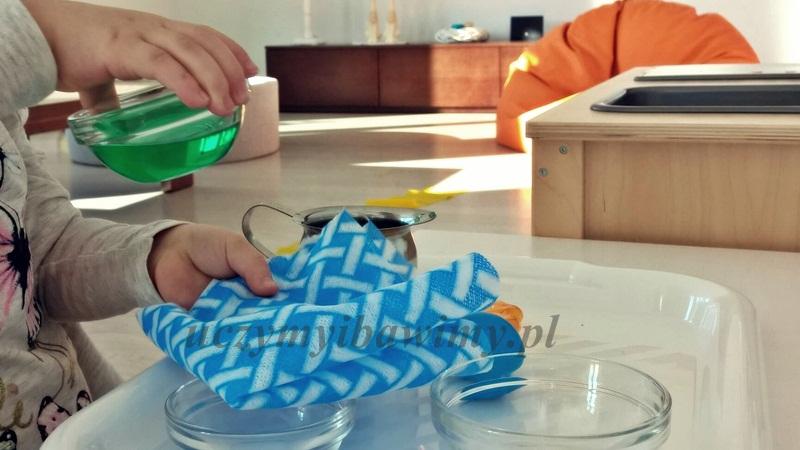 Eksperymenty z wodą - przedszkole