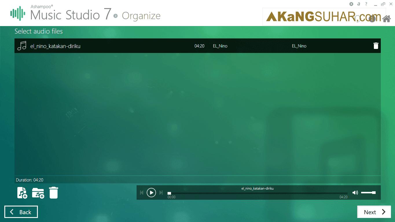 Free download Ashampoo Music Studio 7 Final Latest Full Version Terbaru gratis serial number, crack, keygen, patch, license key, code activation, 2017 multilanguage www.akangsuhar.com