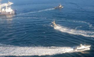 «Τύμπανα» πολέμου στη Μαύρη Θάλασσα: Πολεμικό κλίμα μεταξύ Ρωσίας - Ουκρανίας