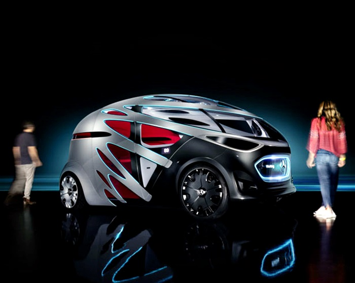 Mercedes-Benz Vision URBANETIC Is The Car For The Future - Photos