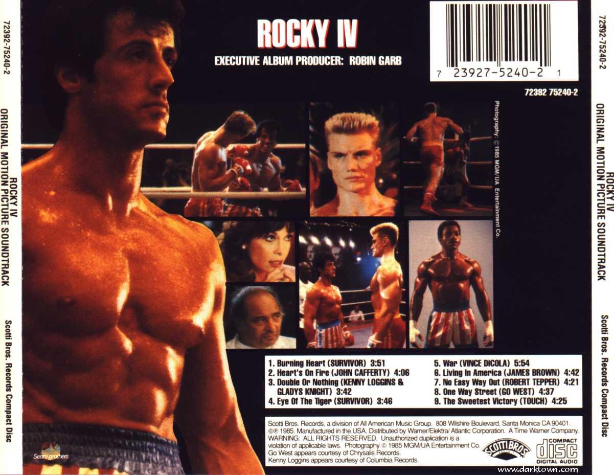 AOR Night Drive: 'Rocky IV' Soundtrack Movie 1985
