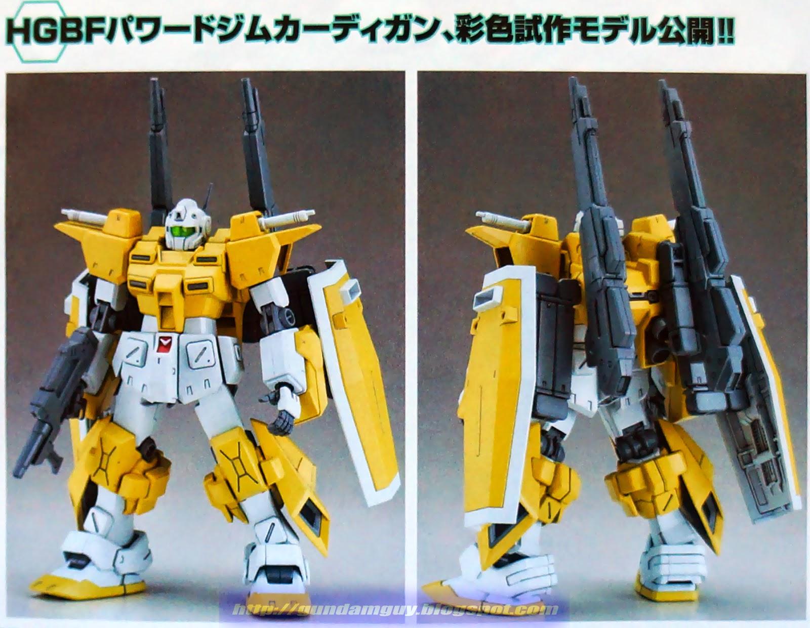Gundam Guy Hg 1 144 Powered Gm Cardigan New Images Release Info