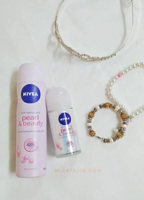 Tampil segar di pagi syawal dengan Nivea Pearl & Beauty , tips elak bau badan, tip kekal cantik di hari lebaran, berwangi-wangian di pagi raya, sunnah berwani-wangian di pagi raya, #myNIVEA #GayaRayaNIVEA