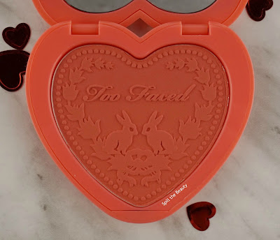 too faced love flush review swatches how deep is your love