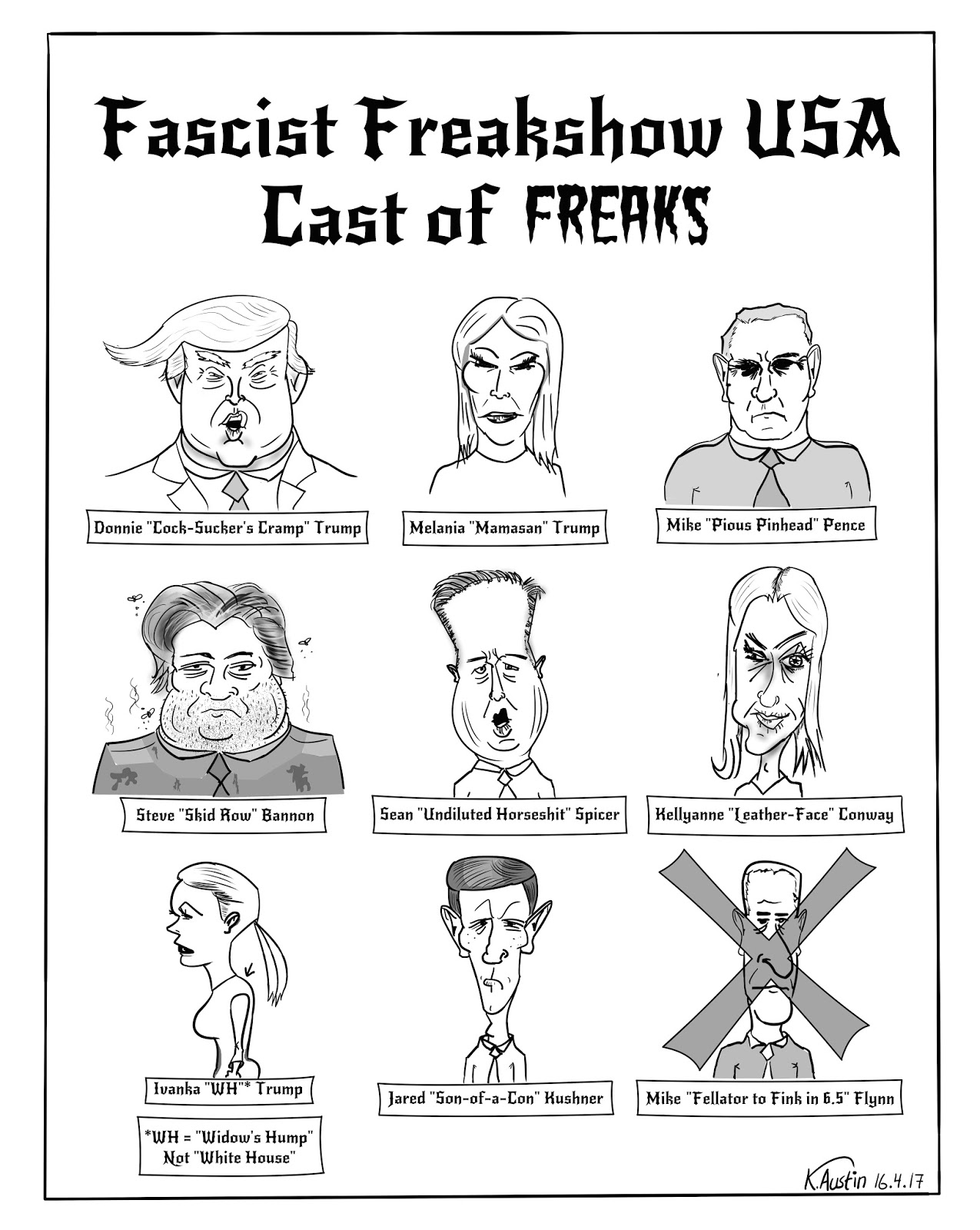 Freak's Own 11: Fascist Freakshow USA