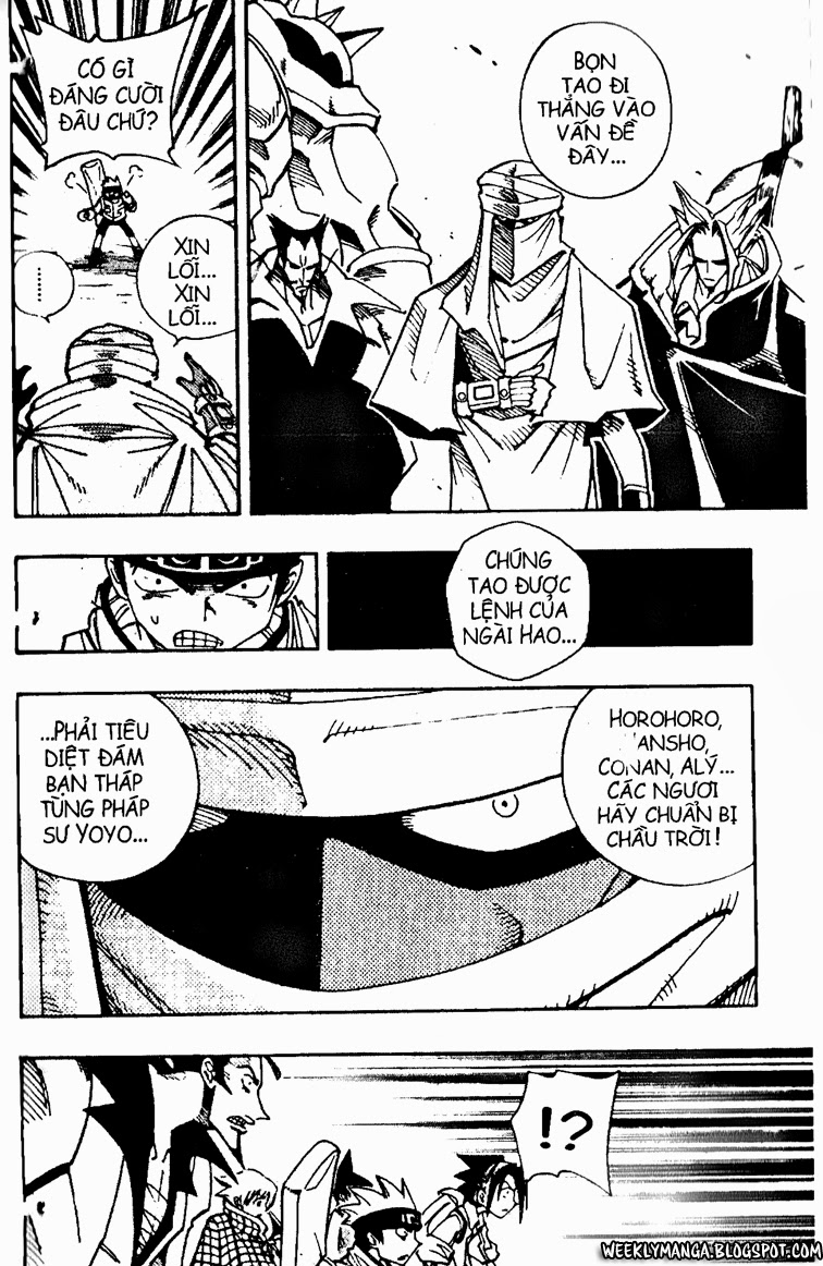 Shaman King [Vua pháp thuật] chap 95 trang 15