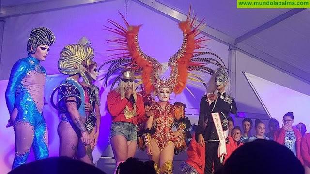 La gala 'drag queen' del Llanito se consolida como un espectáculo único en La Palma