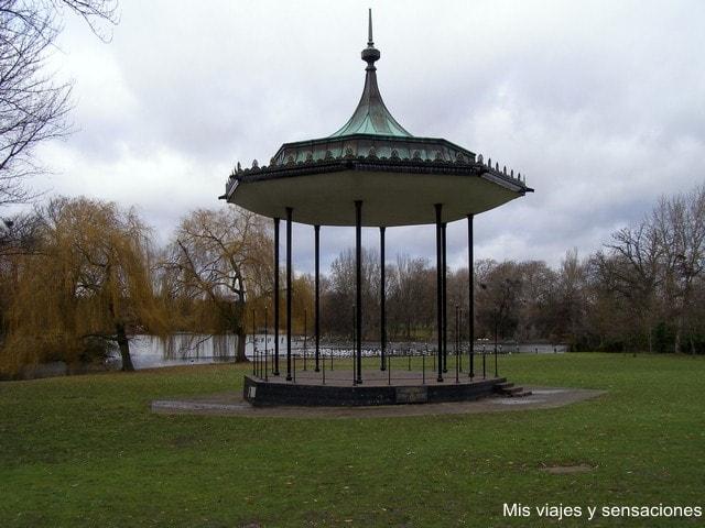 parque de Regent's park, Londres