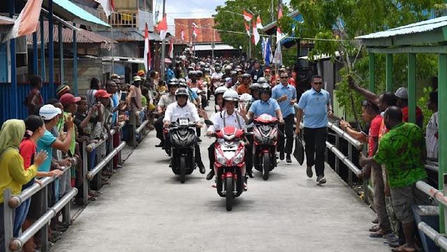 Motor Listrik yang Dipakai Jokowi Sudah Dirakit di Gresik
