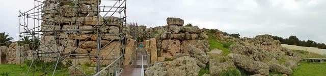 Ggantija Megalithic Site, Malta