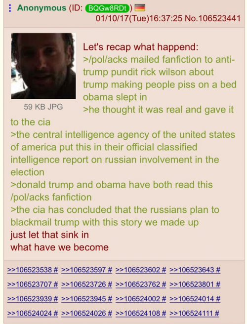 4Chan Claims To Have Fabricated Anti-Trump Report As A Hoax