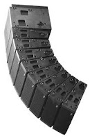 Line Array Main Output Speakers