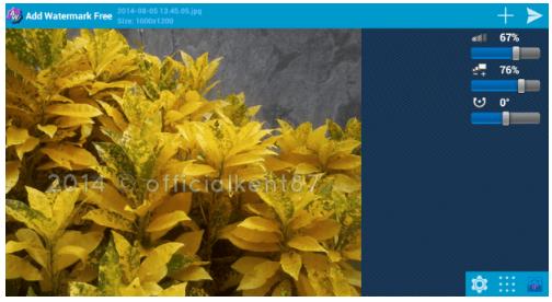 Cara Watermark Foto di Android