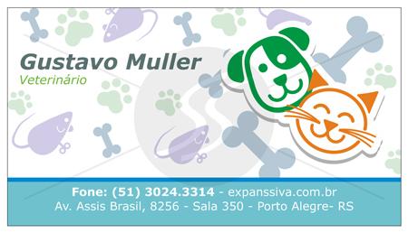 cartoes de visita veterinarios 07 - 15 lindos Cartões de Visita de Veterinários