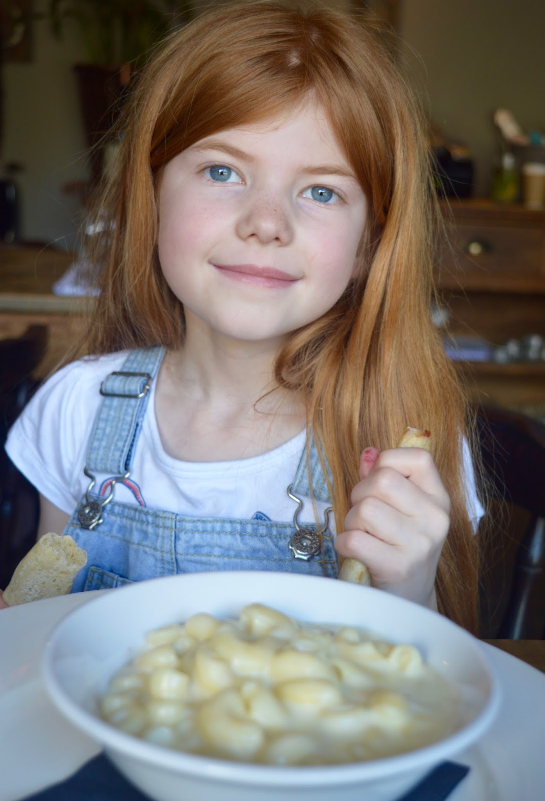 The Northumberland Arms, Felton - kids pasta