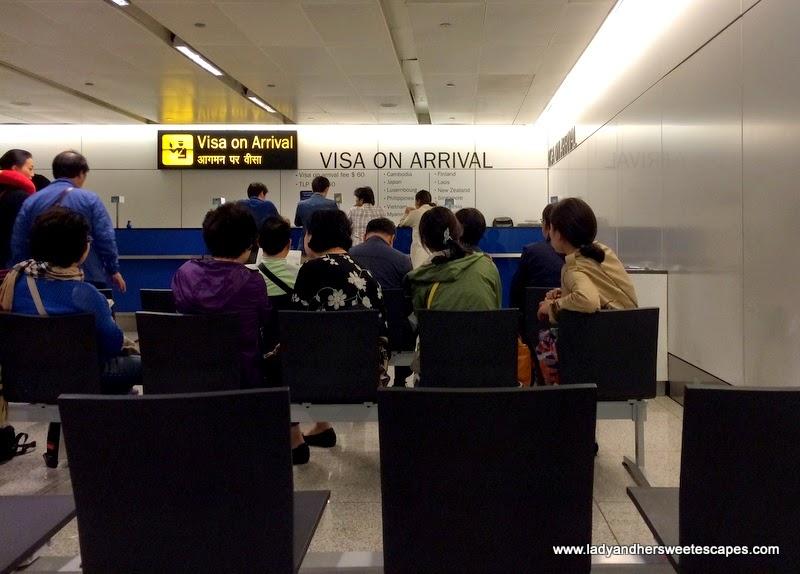 Visa on Arrival at Indira Gandhi International Airport