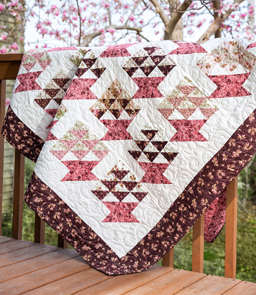 May Day Baskets Quilt Free Tutorial designed by Jenny of Missouri Quilt Co
