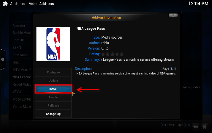 NBA League Pass Add-on For Kodi / Xbmc. How to Install ...
