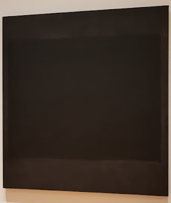 A work in black by Rothko