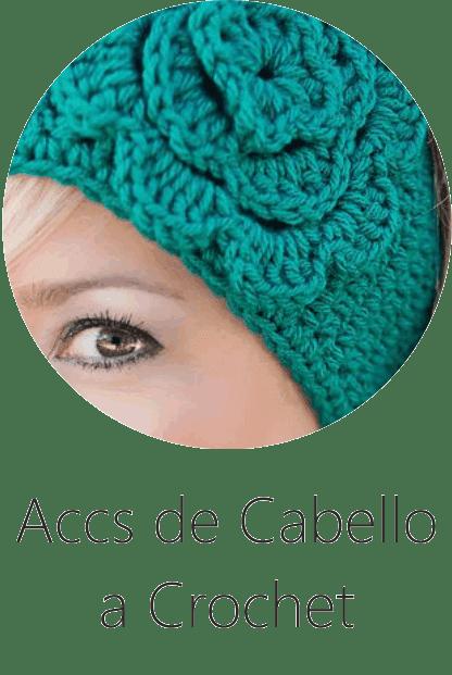 Accesorios para el Cabello a Crochet