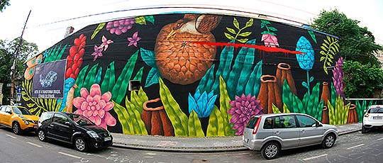 Ilustración, pintura y arte urbano de Saddo