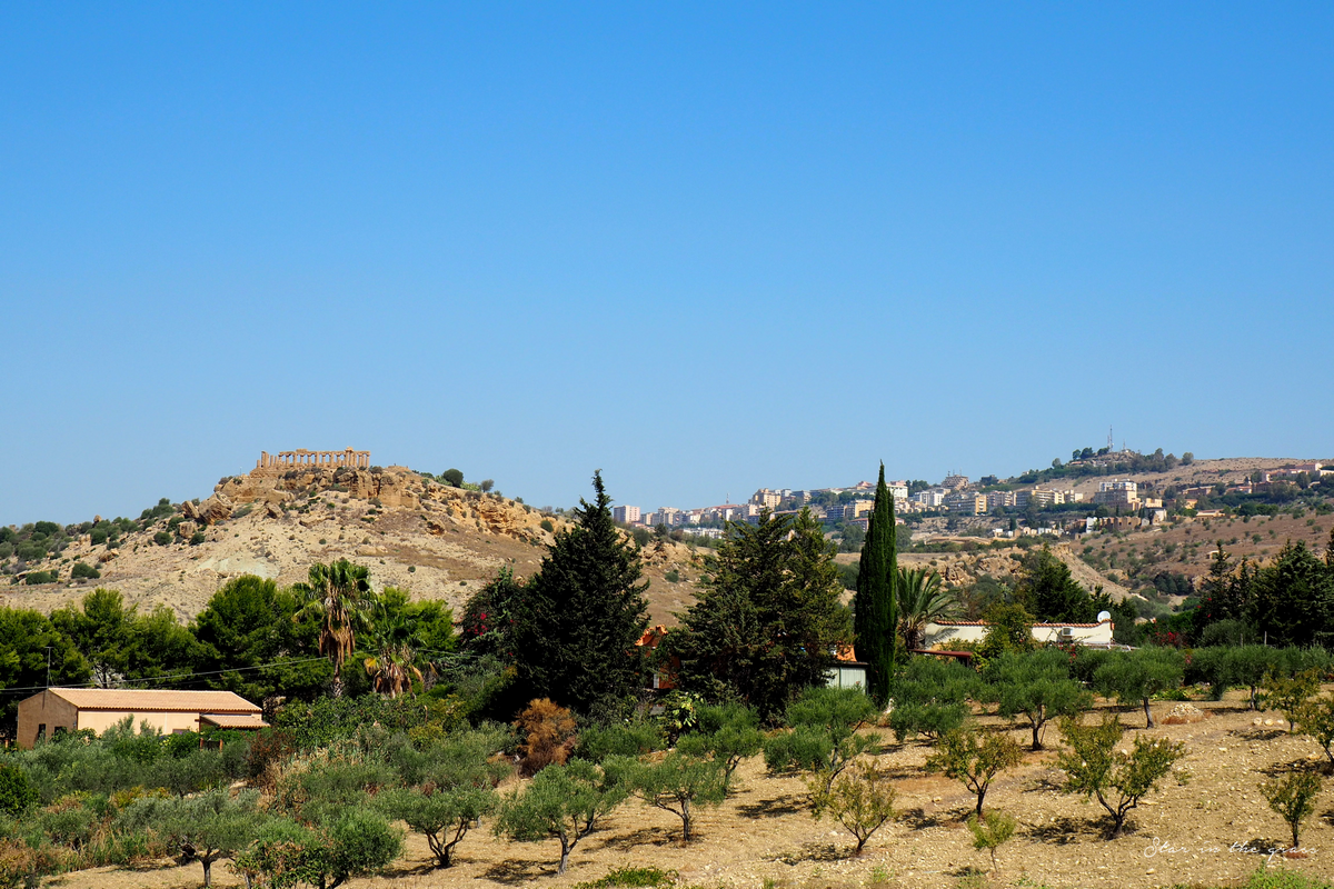 Vallée des temples, Agrigento, Sicilia