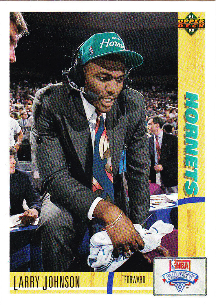 Tru School Sports Larry Johnson 1991 1992 Upperdeck