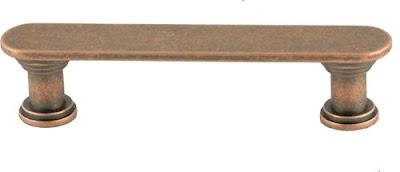 Antique Copper Cabinet Pull Making Base