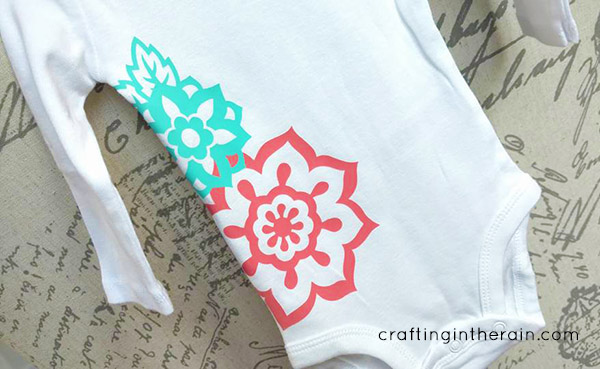 Tips for Using Stretch Heat Transfer Vinyl - Crafting in the