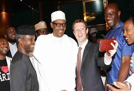 PHOTOS: Facebook Founder, Zuckerberg Meets Prez Buhari