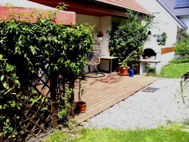 wildes gartengl ck terrasse endlich fertig. Black Bedroom Furniture Sets. Home Design Ideas