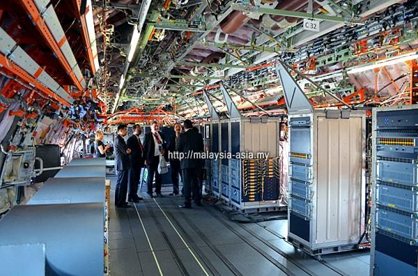 Airbus A350 XWB Interior Test Plane