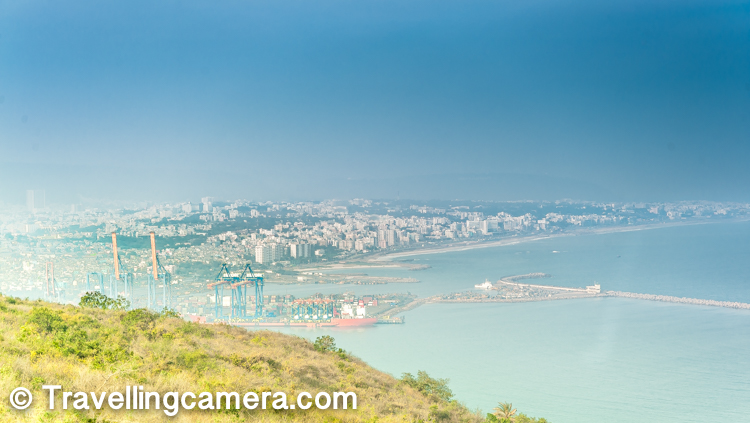 Vizag is known for it's beautiful beaches, clean city, shipping ports and some of the beautiful neighborhoods in the country. One such neighborhood is on Dolphin's Nose hill which is majorly occupied by armed forces. This hill exposes you to beautiful views of Vizag city, some of the popular Vizag beaches like Yarada and the shipping ports. And for best views of all these things can be enjoyed from the top of Lighthouse in Vishakhapatanam. This post shares more about how to reach the lighthouse, what's the best time to visit Lighthouse in Vizag, some tips around planning well, precautions and other things to do around this place.