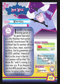 My Little Pony Iron Will Series 2 Trading Card