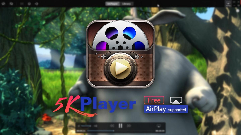 5KPlayer افضل برنامج مجاني لتشغيل جميع صيغ الفيديوات والصوتيات على الويندوز والماك بالاضافة الى مزايا اخرى