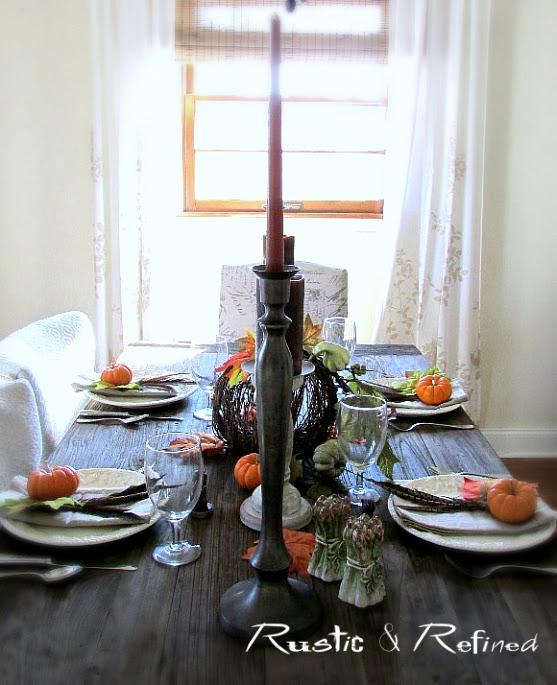 Cozy Holiday Tablescape
