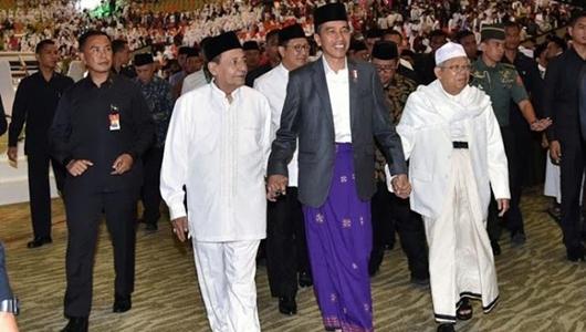 98 Persen Warga NU Pilih Jokowi-Ma'ruf Amin