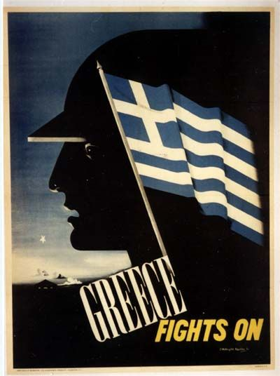 Greece fights for freedom in WWII