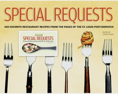 A two-decade collection of St. Louis restaurant recipes published by the St. Louis Post-Dispatch in a weekly column called Special Requests.