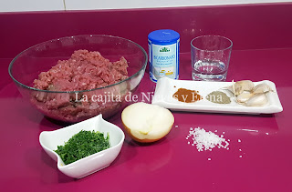Ingredientes Ćevapi