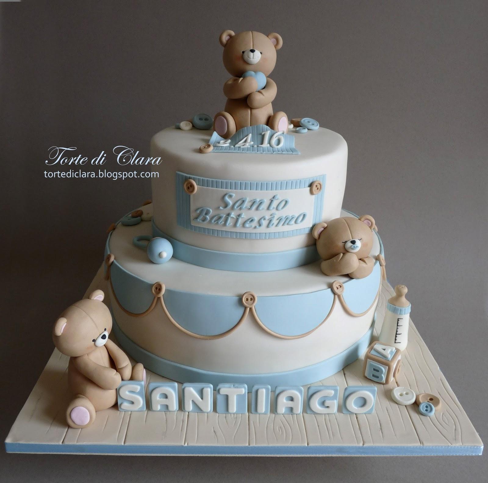 Bien-aimé Torte di Clara: Torta Battesimo (18) ZR95