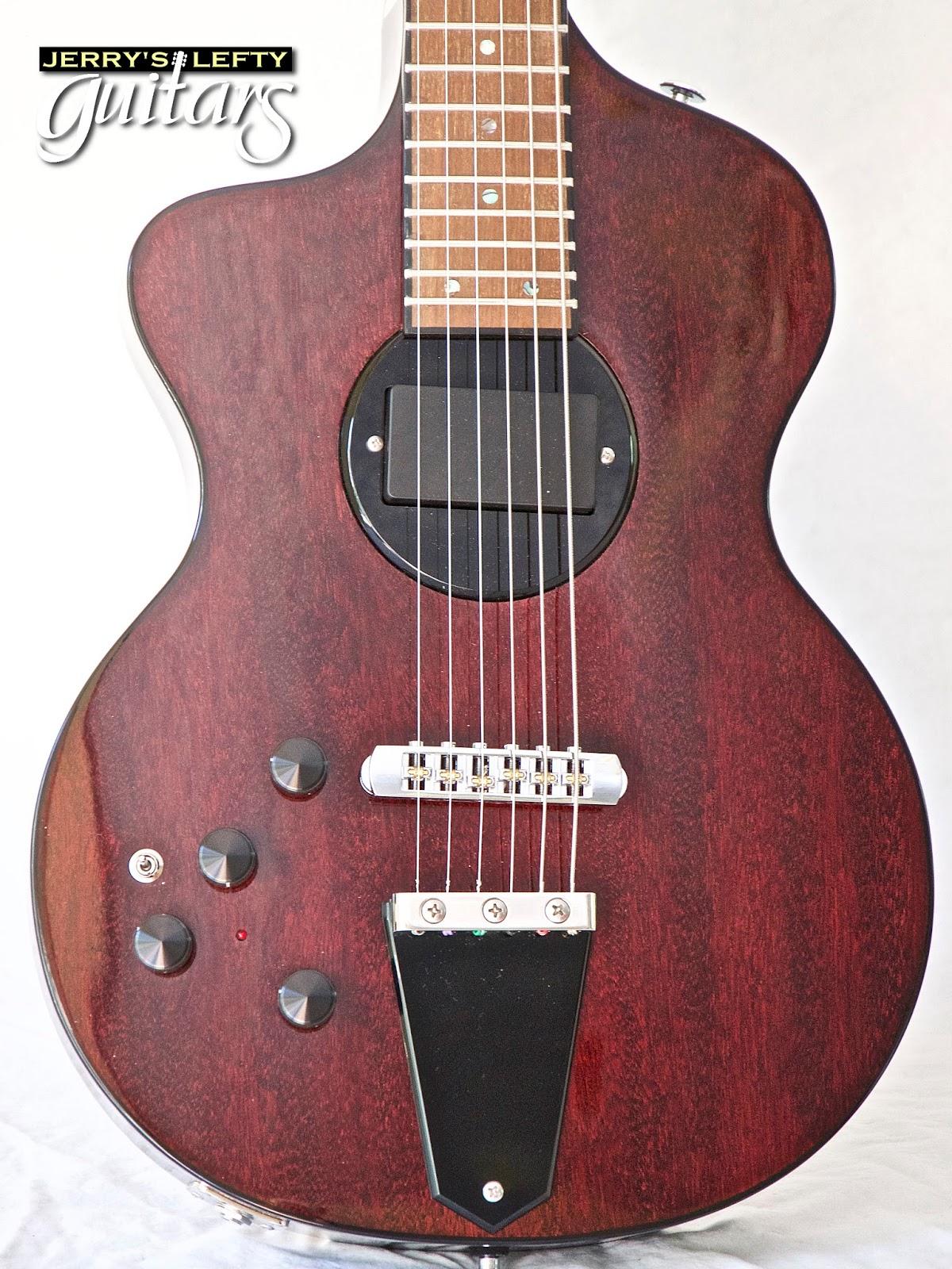 jerry 39 s lefty guitars newest guitar arrivals updated weekly rick turner model one left handed. Black Bedroom Furniture Sets. Home Design Ideas