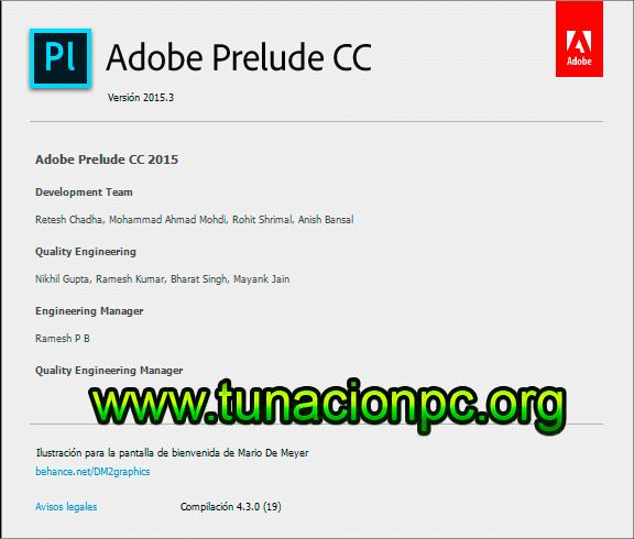Adobe Prelude CC 2015